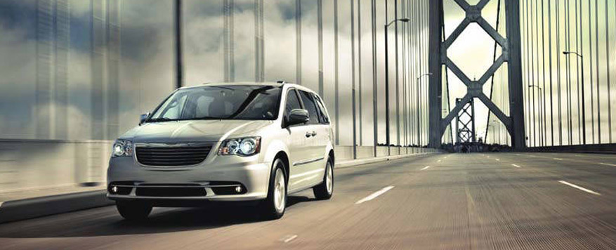 2016 Chrysler Town & Country Landing page Image