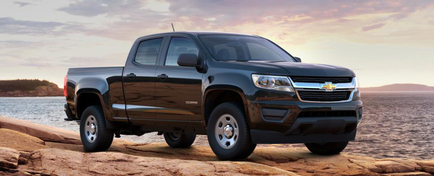 2016 Chevrolet Colorado Crew Cab Long Box WT Vehicle Image