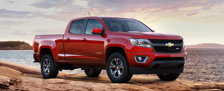 2016 Chevrolet Colorado Crew Cab Long Box Z71 Vehicle Image