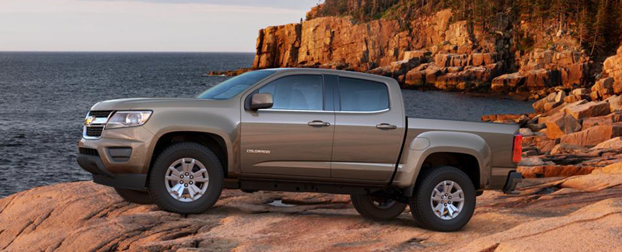 2016 Chevrolet Colorado Crew Cab Short Box LT Vehicle Image