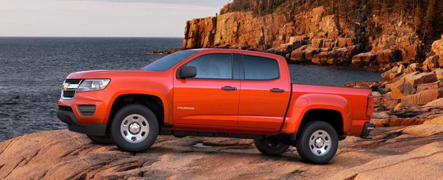 2016 Chevrolet Colorado Crew Cab Short Box WT Vehicle Image