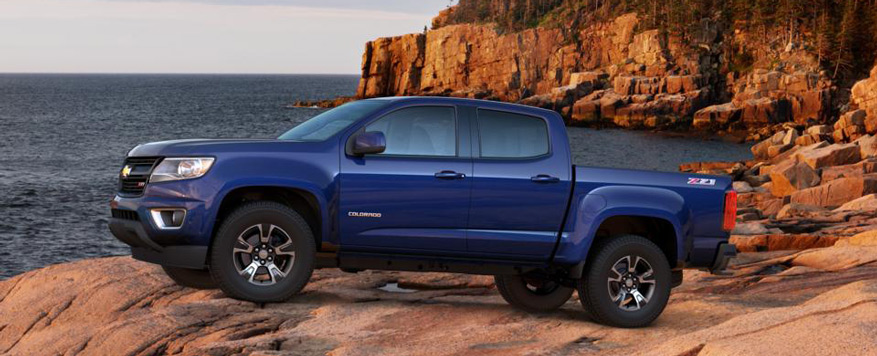2016 Chevrolet Colorado Crew Cab Short Box Z71 Vehicle Image