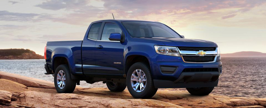 2016 Chevrolet Colorado Extended Cab Long Box LT Vehicle Image