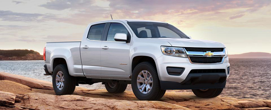 2016 Chevrolet Colorado Crew Cab Long Box LT Vehicle Image