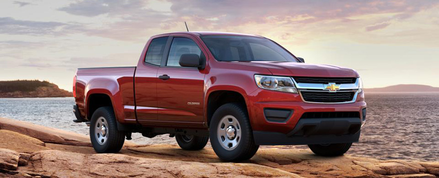 2016 Chevrolet Colorado Extended Cab Long Box WT Vehicle Image