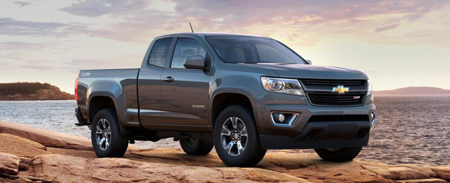 2016 Chevrolet Colorado Extended Cab Long Box Z71 Vehicle Image
