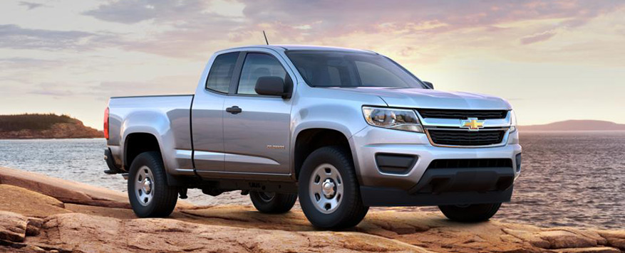 2016 Chevrolet Colorado Extended Cab Long Box Base Vehicle Image