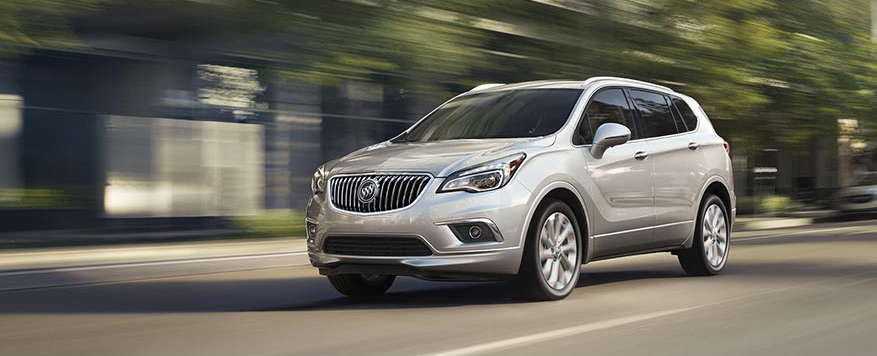 2017 Buick Envision Landing page Image
