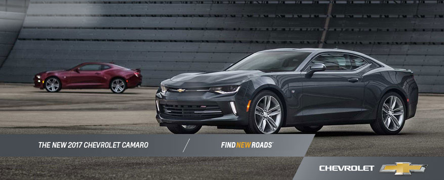 2017 Chevrolet Camaro Landing page Image