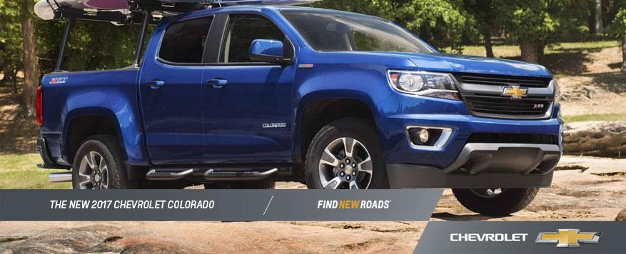 2017 Chevrolet Colorado Landing page Image