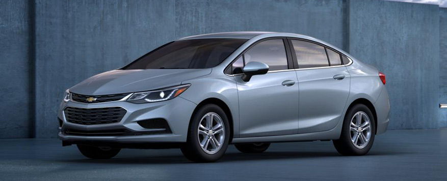 2017 Chevrolet Cruze Sedan LT Vehicle Image