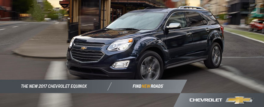 2017 Chevrolet Equinox Landing page Image