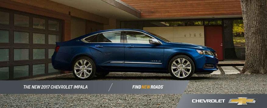 2017 Chevrolet Impala Landing page Image