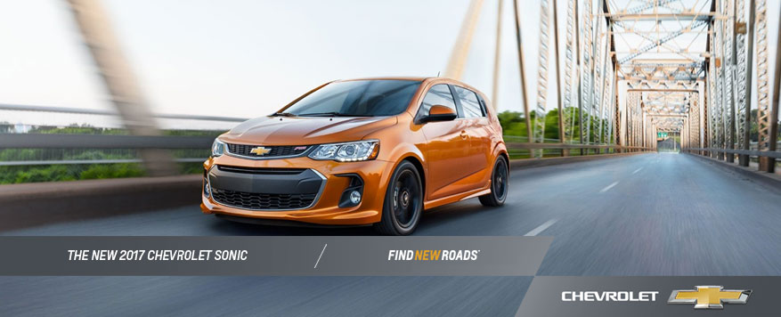2017 Chevrolet Sonic Landing page Image