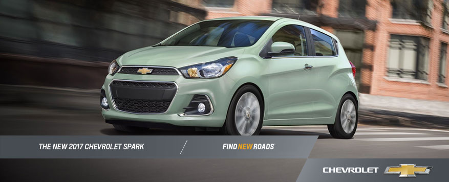2017 Chevrolet Spark Landing page Image