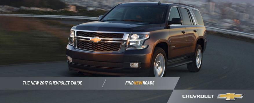 2017 Chevrolet Tahoe Landing page Image