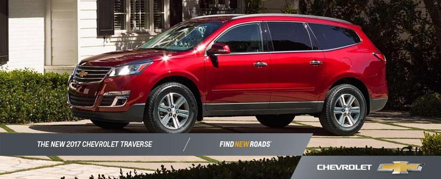 2017 Chevrolet Traverse Landing page Image