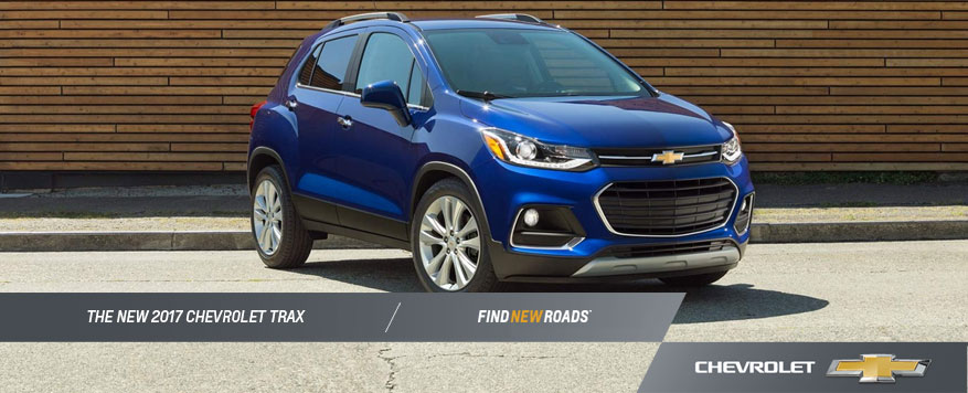 2017 Chevrolet Trax Landing page Image