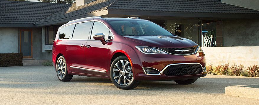 2017 Chrysler Pacifica Landing page Image