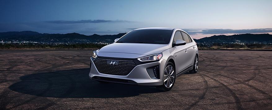 2017 Hyundai Ioniq Hybrid Landing page Image