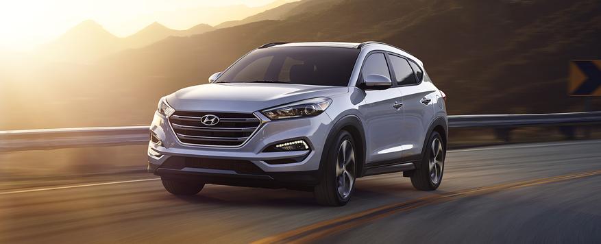2017 Hyundai Tucson Landing page Image