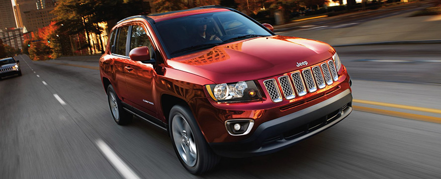 2017 Jeep Compass Landing page Image
