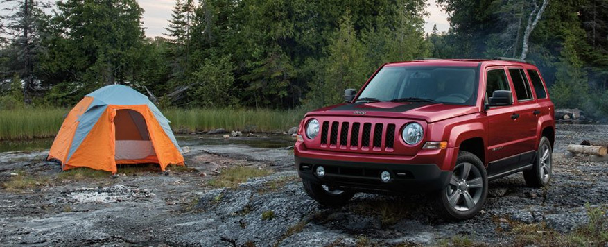 2017 Jeep Patriot Landing page Image