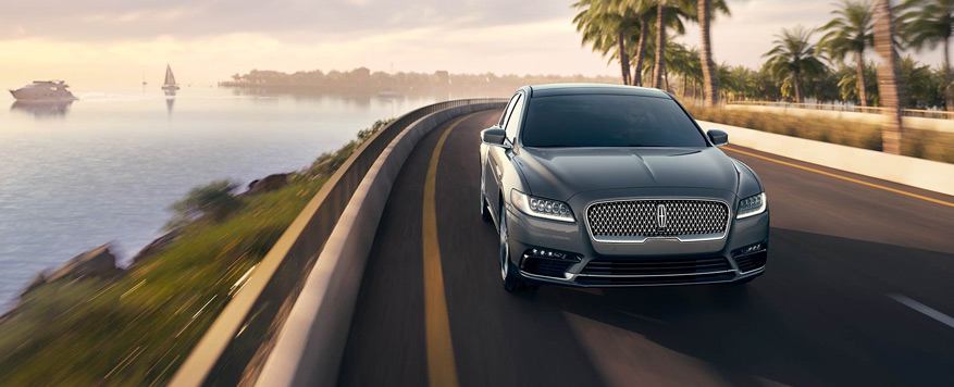 2017 Lincoln Continental Landing page Image