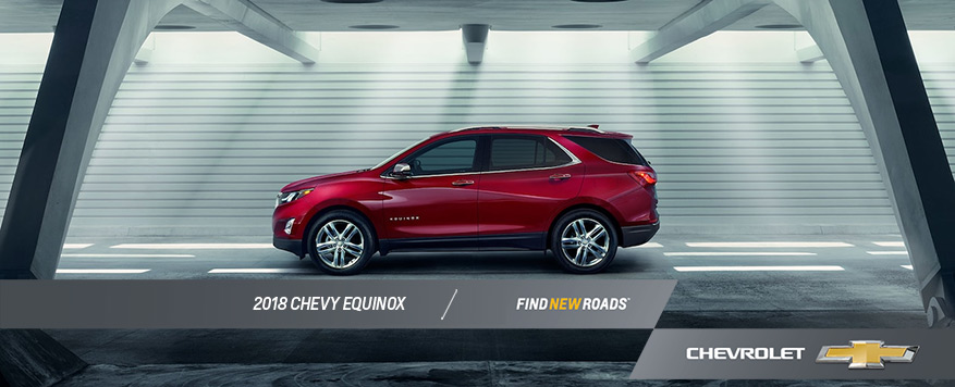 2018 Chevrolet Equinox Landing page Image
