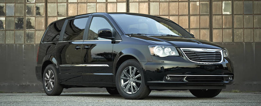 2015 Chrysler Town & Country Landing page Image