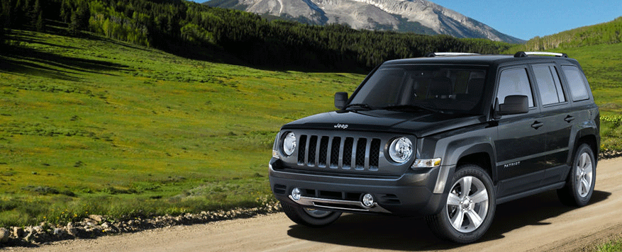 2014 Jeep Patriot Landing page Image