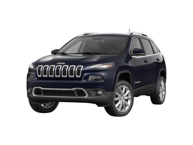 2015 Jeep Cherokee Limited 4x4 True Blue Pearlcoat Black Leather NORMAL DUTY SUSPENSION  ENGINE
