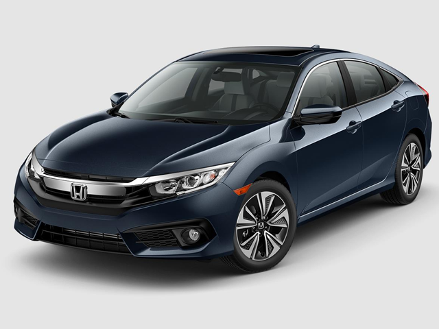 2018 Honda Civic Sedan EX-L CVT with Honda Sensing