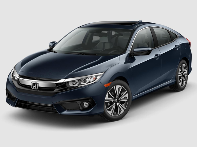 2018 Honda Civic Sedan EX T CVT With Honda Sensing