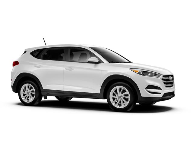 2018 Hyundai Tucson SE AWD Dazzling White Gray Cloth OPTION GROUP 01  DAZZLING WHITE  GRAY YE