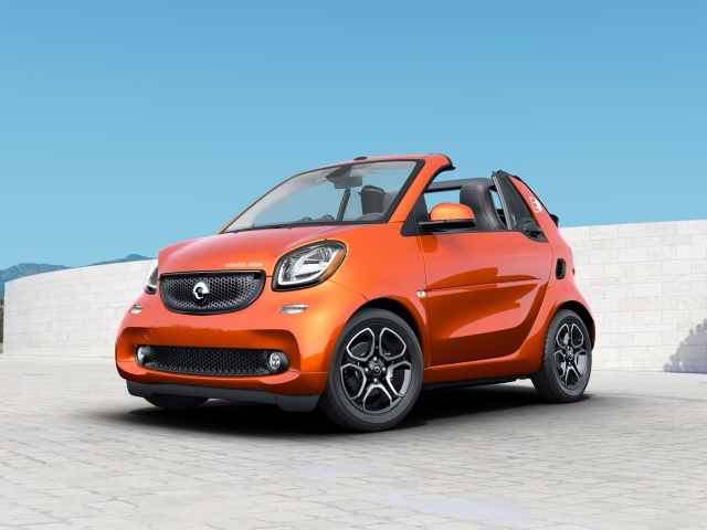 2018 Smart fortwo electric drive prime cabriolet