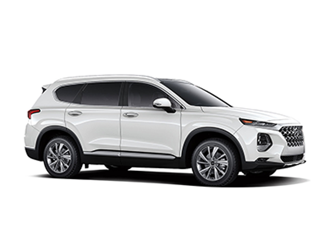 2019 Hyundai Santa Fe 20T Limited AWD Quartz White Gray Leather OPTION GROUP 01 -inc standard