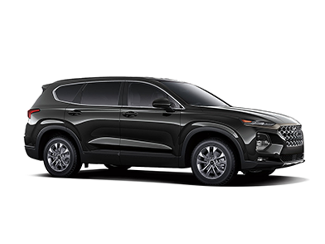 2019 Hyundai Santa Fe 24L SEL AWD Twilight Black Beige Cloth OPTION GROUP 01 -inc standard equ