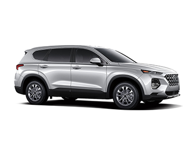 2019 Hyundai Santa Fe 24L SE AWD Symphony Silver Black Cloth OPTION GROUP 01 -inc standard equ
