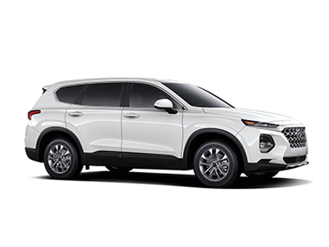 2019 Hyundai Santa Fe 24L SE AWD Quartz White Black Cloth OPTION GROUP 01 -inc standard equipm