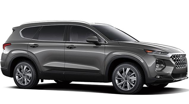 2019 Hyundai Santa Fe 24L SEL Plus AWD Machine Gray Gray Cloth OPTION GROUP 01 -inc standard e